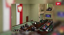 Kancelaria Sejmu usunęła zdjęcie Andrzeja Dudy na tle posłów Lewicy. Pojawili się w tęczowy maseczkach