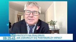 Aleksiej Nawalny w szpitalu. Ryszard Czarnecki: Władimir Putin obawia się białoruskiego scenariusza