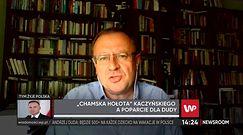 """Wybory 2020 r. prof. Antoni Dudek: Kaczyński mówiąc o """"chamskiej hołocie"""" nie pomógł A. Dudzie"""