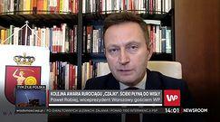 """Oczyszczalnia """"Czajka"""". Paweł Rabiej o wizycie ekspertów. """"Na czas ich sprawdzania wszystko było w porządku"""""""