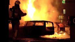 Seria podpaleń samochodów w Sztokholmie