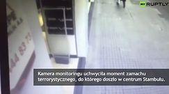 Monitoring zarejestrował moment zamachu terrorystycznego