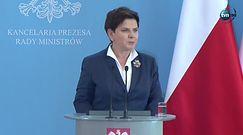 Zmiany w rządzie PiS. Szydło: oboje z Mateuszem Morawieckim jesteśmy pomazańcami prezesa Jarosława Kaczyńskiego