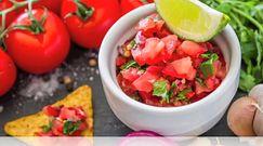 Przepis na chłodnik meksykański z salsą pomidorową
