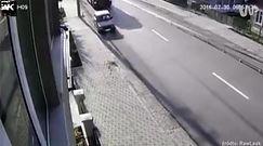 #dziejesiewmoto: Ciężarówką w osobówkę