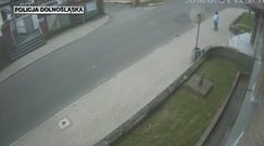 Chciał przejechać kierowcę, który zwrócił mu uwagę. Prawie doszło do tragedii