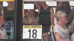 Syn Zamachowskiej wietrzy pachę w tramwaju