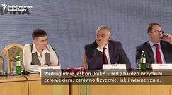 """Sawczenko:""""Putin to gnida. Znacie jego pseudonim - Putin ch**"""""""