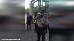 Rapujący policjant