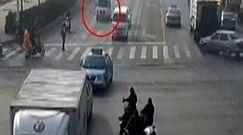 Nagranie tego wypadku jest hitem w internecie