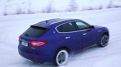 Maserati Levante S przetestowane w śniegu
