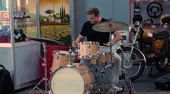 Liszewski zamieni śpiewanie na perkusję? Zobaczcie jego popisowy kawałek