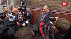 Gawłowski po wyjściu z aresztu: stoję z otwartą przyłbicą, niczego się nie obawiam