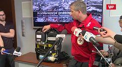 Ratownicy zabierają ze sobą 400 litrów tlenu. Zapas starcza na 4 godziny pracy
