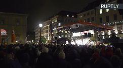 W Monachium odbył się wiec poparcia dla uchodźców