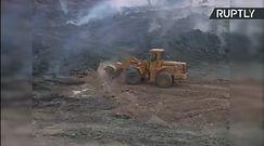 Terroryści z IS podpalili zakłady przetwórstwa siarki pod Mosulem