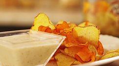 #mniammniam Chipsy z ziemniaków i batatów