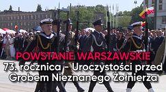 Rocznica Powstania Warszawskiego. Uroczystości przed Grobem Nieznanego Żołnierza