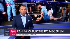 Panika w strefie kibica w Turynie