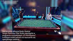 #dziejesiewsporcie: Kunsztowny trick bilardowy partnerki Sergio Ramosa