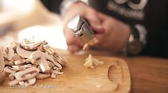 Chrupiąca bruschetta z pieczarkami. Ekspresowa przekąska