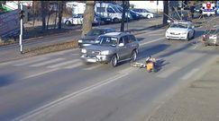 Pijany potrącił rowerzystkę i uciekł. Jest w rękach policji