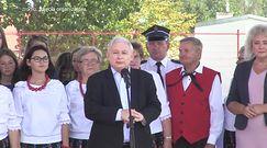 """Jarosław Kaczyński w Zbuczynie. Grzmiał: """"bardzo wsi szkodono"""""""