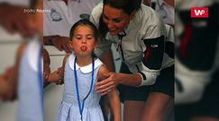 Charlotte pokazała rogi. Bezcenna reakcja księżnej Kate