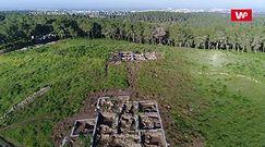 Znaleźli ruiny biblijnego miasta. To tam Dawid znalazł schronienie
