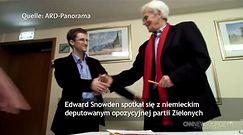Snowden chce przyjechać do Niemiec