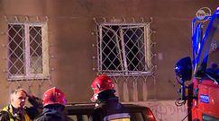 Potężny wybuch gazu w Warszawie