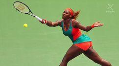 Piękne tenisistki w Singapurze