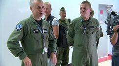 Kamil Stoch przeleciał się F16