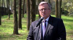 Prezydent: Bartoszewski wzorem patriotyzmu