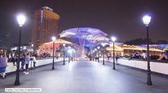 Singapur nocą. Niesamowity timelapse