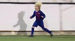 #dziejesiewsporcie: 9-letni Polak robi furorę w Barcelonie. Jest fenomenalny!