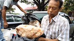 Rybak znalazł 100-kilogramową ambrę. Szczęściarz będzie milionerem