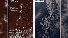 Powierzchnia Plutona. Niezwykłe odkrycie naukowców NASA