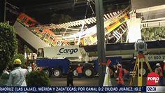 Katastrofa metra w Meksyku. Wstrząsające nagranie z miejsca wypadku