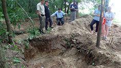Wielkie odkrycie w Brudnicach. Odkopano masowy grób żołnierzy z czasów II Wojny Światowej.