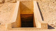 Zdjęcia z grobowca Tutanchamona
