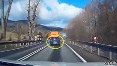 Tir zmiótł 2 auta. Przerażające nagranie z Dolnego Śląska