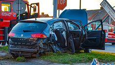 Wóz strażacki spowodował wypadek w Wielkopolsce. Kierowca był pijany