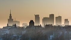 Warszawa. Zły stan powietrza. Nawet w Pekinie jest lepiej