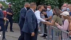 Prezydent Francji spoliczkowany. Macron: głupota i przemoc nie w demokracji