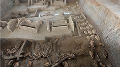Odkrycie w chińskich grobowcach. Naukowcy trafili na komnatę pełną skarbów