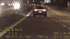 Kierowca porsche jechał 170 km/h. Nagranie policji z Podlasia