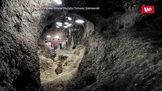 Zdjęcia niedawno odkrytego systemu tuneli pod Zamkiem w Olsztynie