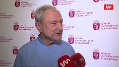 Prof. dr hab. n. med. Ryszard Lauterbach o sześcioraczkach z Krakowa