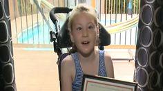 Chora dziewczynka uratowała brata przez utonięciem